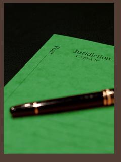 Photo d'un dossier vert